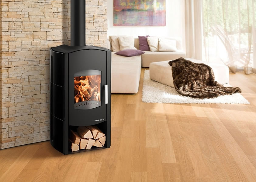 ofen k lteanlagenbau kurtz haas sohn wasserf hrender kaminofen aquaris schwarz. Black Bedroom Furniture Sets. Home Design Ideas
