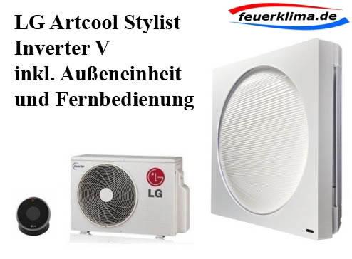 lg art cool stylist inverter v set mit w rmepumpe 2 5 3. Black Bedroom Furniture Sets. Home Design Ideas