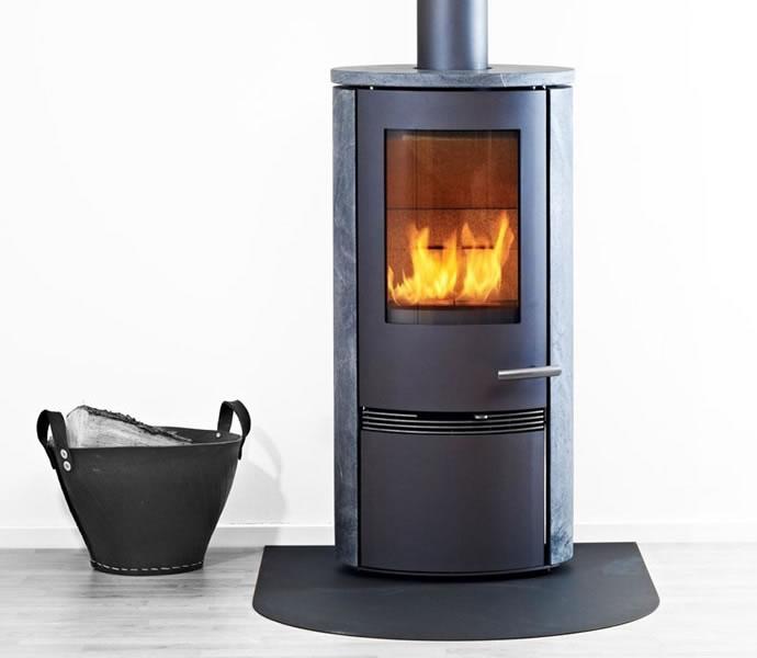 termatech kaminofen tt20rs schwarz runde seiten speckstein 5 jahre hersteller garantie. Black Bedroom Furniture Sets. Home Design Ideas