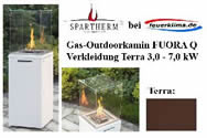 Gas-Outdoorkamin FUORA Q terra