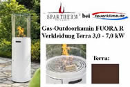 Gas-Outdoorkamin FUORA R terra